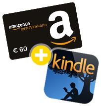 60 Euro Amazon Gutschein + Kindle eBook bei Wechsel der KFZ Versicherung