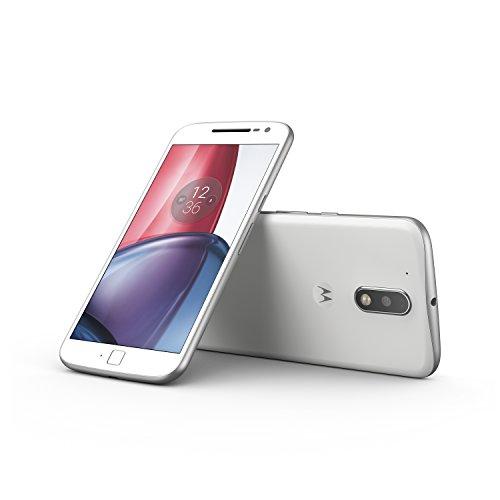 Wieder da: Lenovo Moto G4 Plus LTE + Dual-SIM weiß (5,5 FHD IPS, Snapdragon 617 Octacore, 2GB RAM, 16GB eMMC, 16MP + 5MP Kamera, Fingerabdruckscanner, kein Hybrid-Slot, 3000mAh mit Quickcharge, Android 6 -> 7) für 207,96€ [Amazon.co.uk]