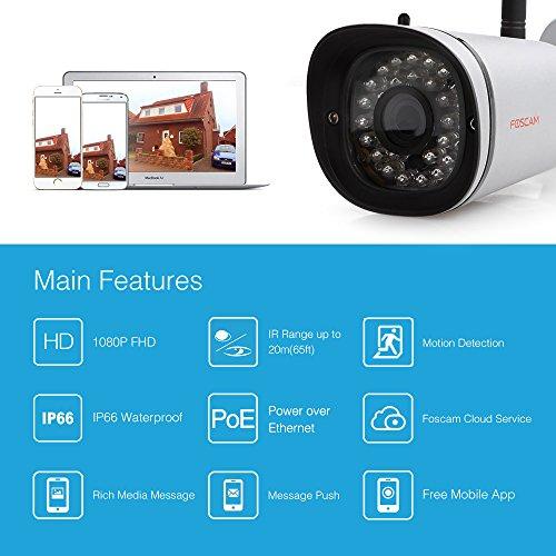 Foscam FI9901EP 4MP - neues Modell - Blitzangebot - UK