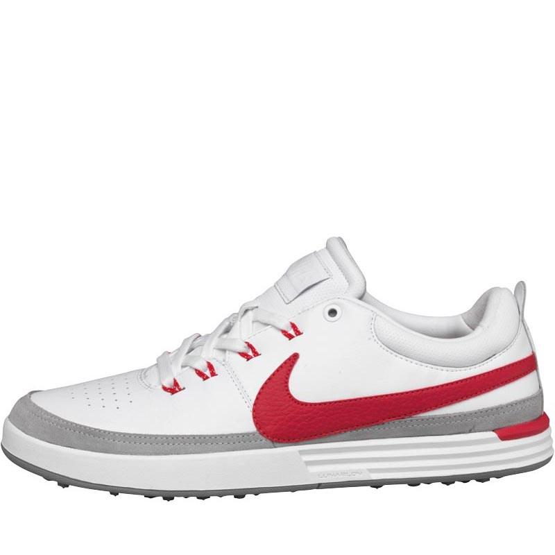 Nike Golf Herren Lunar Waverly BoneSailAction Golfschuhe Weiß oder Grau  bei MandM für 52,95