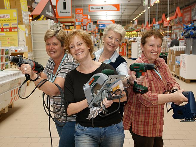 Bauhaus: Gratis Handwerkerkurse für Frauen