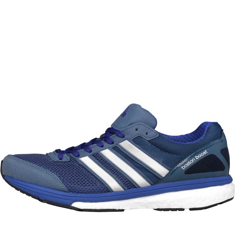 adidas Damen Adizero Boston Boost 5 Neutral Running Flash Sneakers Blau und adidas Damen Adizero Tempo Boost 7 Stability Flash Flash Sneakers Schwarz für € 40,95 bei MandM