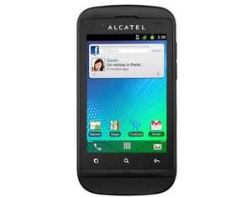 MeinPaket Alcatel OT 918 Dual Sim Handy mit Touch Screen