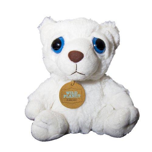 Wild Planet K7682 - Kuscheltier Polarbär, 20 cm für 2,90€