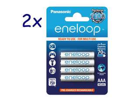 8x Panasonic Eneloop BK-4MCCE AAA für 12,14€ (= 1,52€ / Stück) [Allyouneed]
