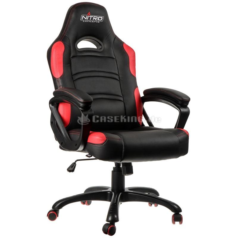 Nitro Concepts C80 Comfort Gaming-Stuhl für 125,89€ [Caseking]