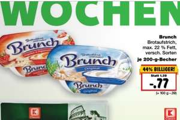 Kaufland ab 31.10 Brunch Brotaufstrich versch. Sorten