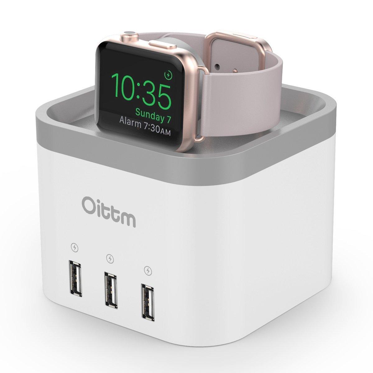 """[amazon] Oittm """"NachtModus"""" Ladestation für Apple Watch für 13,99 €"""
