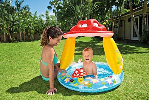 [Amazon Plus Produkt]  Baby Planschbecken Fliegenpilz nur € 4,05