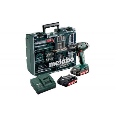 Metabo Mobile Werkstatt mit 18 Volt Akku-Schlagbohrmaschine