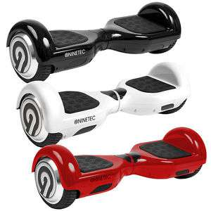 NINETEC Sonic X6 Hoverboard Self Balance Scooter E-Skateboard Elektroroller 4400 mAh (Samsung Zellen) 20 km/h in Rot oder Schwarz für 199,99 € [VSK-Frei] & eBay Plus