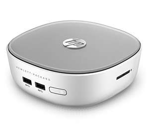 HP Pavilion 300-020ng? Mini PC: Intel Pentium 3558U, 4GB RAM, 500GB HDD, 4x USB 3.0, Gb LAN, HDMI, DisplayPort, Bluetooth 4.0, Win 8.1 für 229,94€ (Amazon.fr)