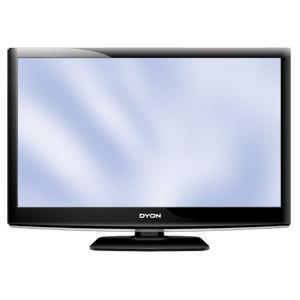 AB 30.04 bei Real: Dyon, LED-FullHD-LCD-TV, 60cm (23,6Zoll) inkl.DVB-S2