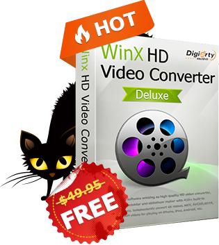 GRATIS: WinX HD Video Converter Deluxe [Giveaway-Lizenz ] --> kostenlose lizenzierte Kopie