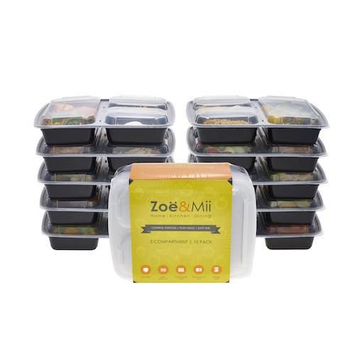 10 Mealprep Boxen @amazon für 2,99