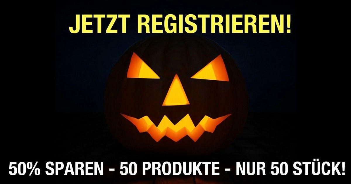 [Pepperworld] Vorankündigung 50 Produkte um 50% reduziert! Halloween Aktion