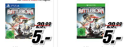 [Mediamarkt GDD] Battleborn (PS4 und XBox One) für je 5,-€ Versandkostenfrei