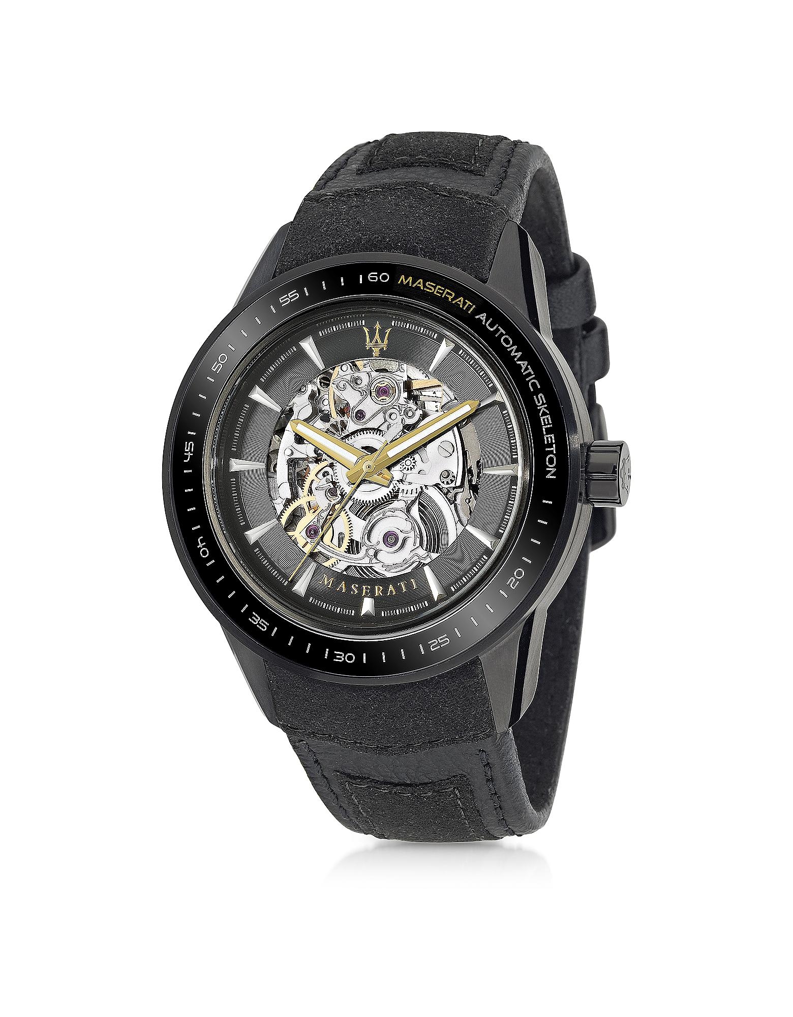 MASERATI Corsa Black Automatik Uhr
