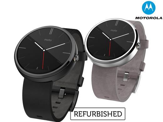 Motorola Moto 360 Smartwatch für Android für 95,90€ [refurbished] bei Ibood