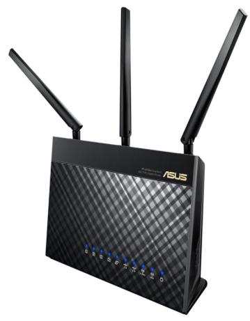 ASUS RT-AC68U AC1900 in schwarz inkl Mafia III für 129€ - Dual-Band Power WLAN Router (802.11 a/b/g/n/ac, Gigabit LAN/WAN, USB 3.0, Print FTP UPnP VPN Server, IPv6, 8x SSID, AiRadar