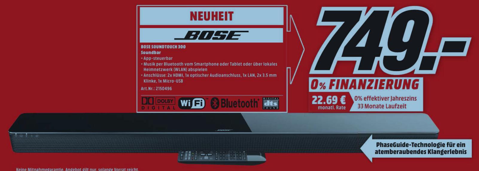 [Lokal Media Markt Bonn] Bose Soundtouch 300