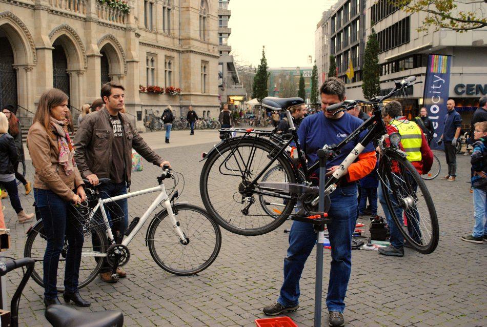 [lokal Braunschweig] Licht für das Fahrrad. Kostenlose Reparatur am 29.10