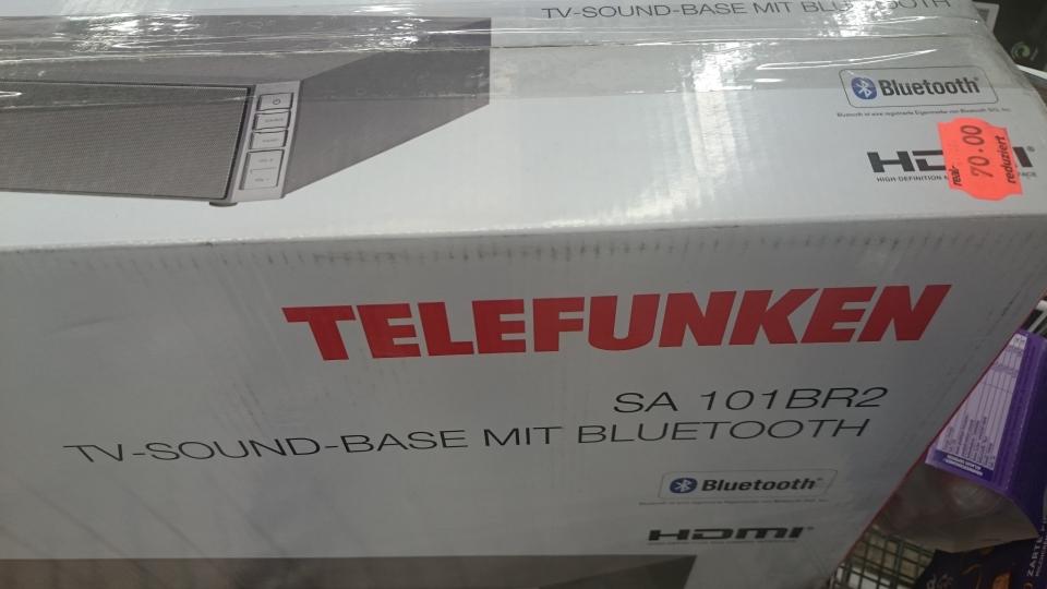 Telefunken SA 101BR2 Sound Base