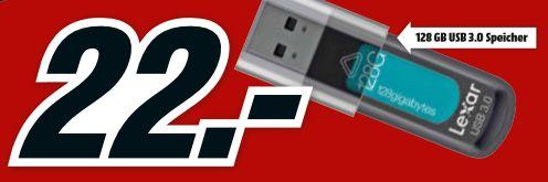 [Mediamarkt] Lexar Jump Drive S57 mit 128GB (150/60 MB/s) für 22,-€ Versandkostenfrei.