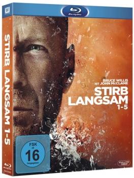 (Alphamovies) Stirb Langsam 1-5 [Blu-ray] für 18,94€