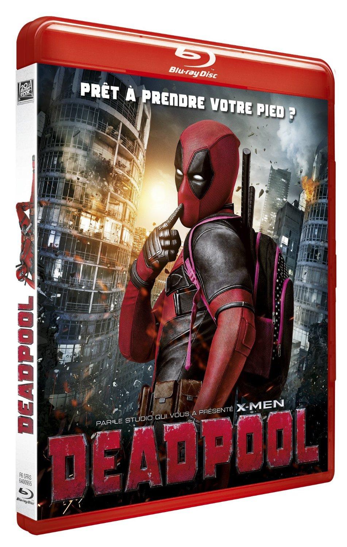 (Amazon.fr) Deadpool [Blu-ray + Digitale HD Kopie] für 13,75€
