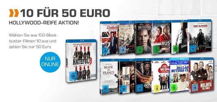 Über 100 Blu-rays für jeweils 5 € versandkostenfrei @saturn.de