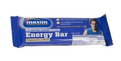 Maxim Energy Bar Cappuccino Caffeine, 25 Riegel à 55g (Amazon Plus Produkt)