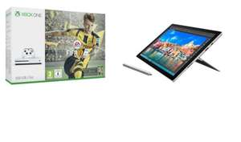 Microsoft Surface Pro 4 (i7-6650U, 8GB RAM, 256GB SSD, Intel HD 540) + Xbox One S inkl. Fifa 17 für ~1298€ [Microsoft Store UK]