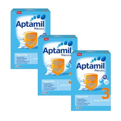 3x 1,2 kg Aptamil Pronatura 3 Milchnahrung für 39,99€ bei [Vitafy] statt ca. 60€