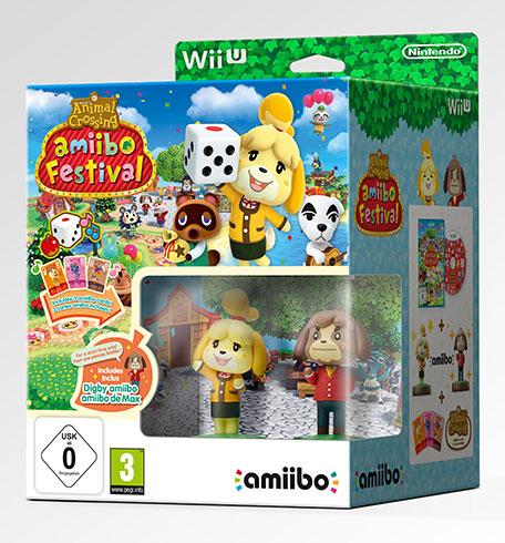 (lokal) Media Markt Mönchengladbach Animal Crossing Amiibo Festival (Wii U) inkl. 2 Amiibo-Figuren + 3 Amiibo-Karten