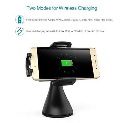Schnellladegerät für Qi-fähige Handys [Amazon]