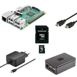 Raspberry Pi 3 Multimedia Bundle inkl. Versand
