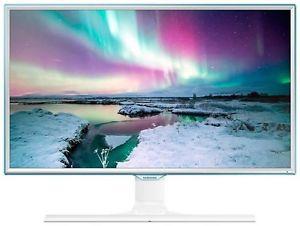 """Samsung S27E370DL für 189€ bei eBay - 27"""" Monitor mit FullHD in weiß mit blauem Rand"""