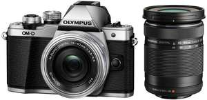 [SATURN] Olympus OM-D E-M10 Mark II + 14-42mm Pancake & 40-150mm R + 100,€ Saturn Gutschein