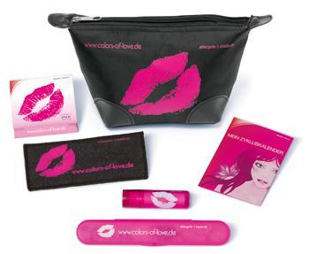 gefüllte Kosmetiktasche gratis von STADA
