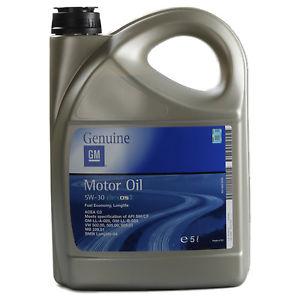 Ebay - GM Opel 5W-30 Dexos 2 Longlife Motoröl 5 Liter