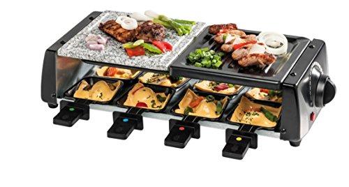 Raclette Grill inkl. 8 Pfännchen und Holzschaber (MEDION MD 15601) (14,99€ vsk-frei)