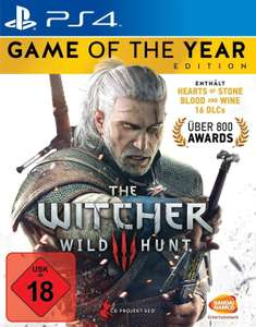 The Witcher 3: Game of the Year Edition (inkl. Hearts of Stone und Blood & Wine) (PS4 / XBO) ab 28,31€ [Base / Amazon.co.uk]