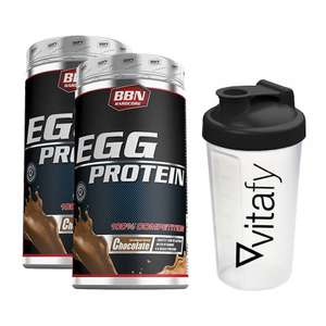 1kg Best Body Nutrition Egg Protein + Shaker für 17,99€