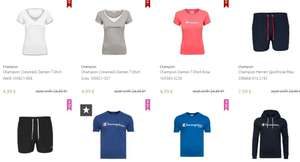 Champion Sale bei Outlet46 – z.B. Shirts für 4,99€, Sporthosen 7,99€ uvm.
