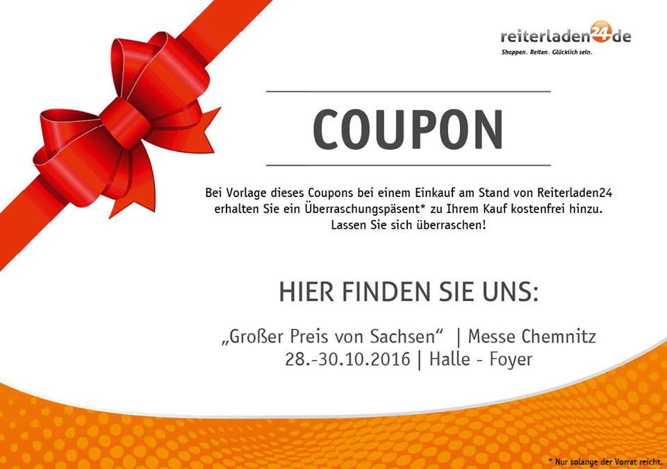 """Überraschungsgeschenk zu eurem Einkauf beim """"Großem Preis von Sachsen"""" in Chemnitz"""