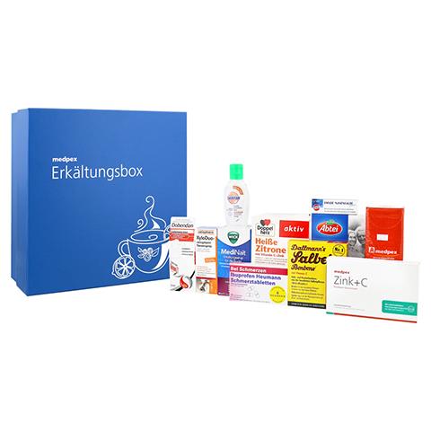 Tschau Rotznase: 11-teilige Erkältungsbox von medpex für 19,90€ statt ca. 28€