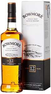 Amazon: Bowmore 12 Jahre Islay Single Malt Scotch Whisky (1 x 0.7 l)