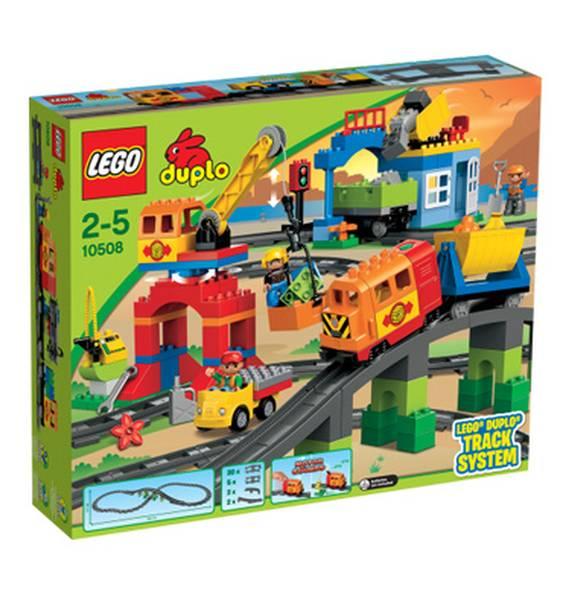 [Galeria Kaufhof] Duplo Sale ! Duplo Eisenbahn Super Set 10508 + 10507 + 10506 für 38% unter Idealo (auch andere Artikel möglich)
