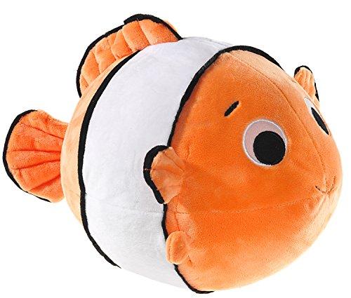 Heunec 374577 - Clownfisch rund, orange/weiß/schwarz